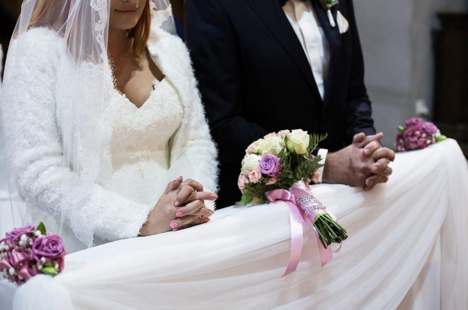Ślub Elizy i Jarosława.
