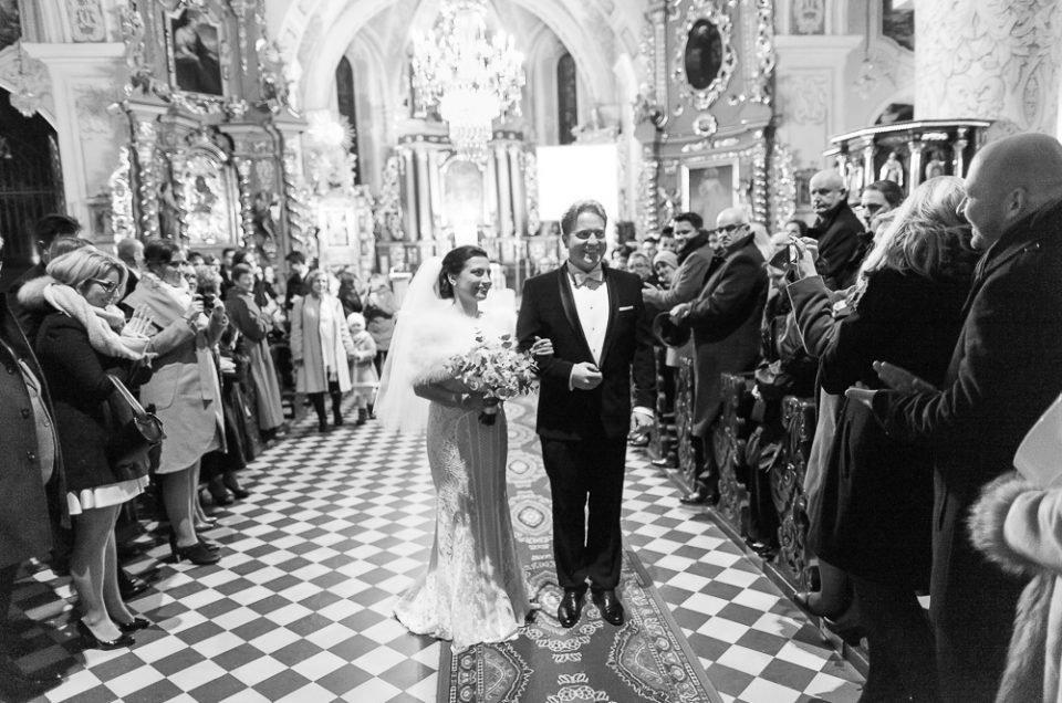 Ślub Dobrusi i Piotra.