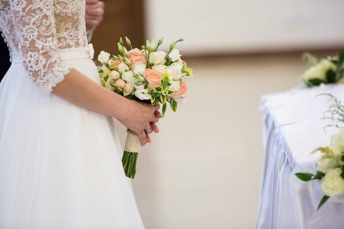 Ślub Katarzyny i Damiana.